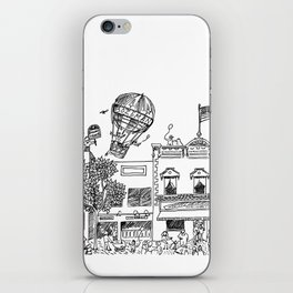 Main Street iPhone Skin