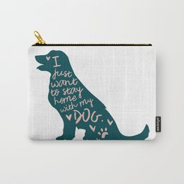 Stay at Home Dog Carry-All Pouch