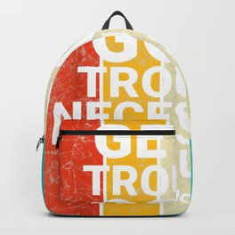 John Lewis Enter Excellent Necessary Difficulty Social Justice Tee Backpack