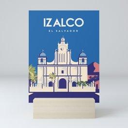 El Salvador Izalco Mini Art Print