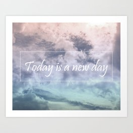 New day Art Print