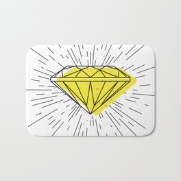 Shiny diamond Bath Mat