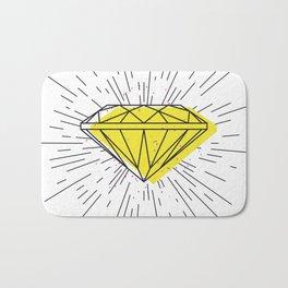 Shiny diamond Bath Mat