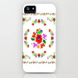 Hungarian Kalocsa 2 iPhone Case