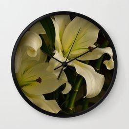 Verona Fresh Flowers , Verona - Italy Wall Clock