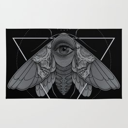 Occult Moth Rug