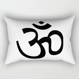 yoga letter Rectangular Pillow