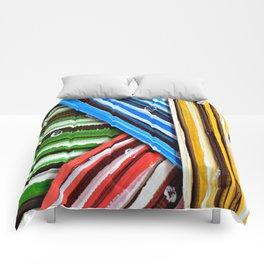 Striped Planes Comforters
