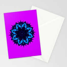 Kids Mandala Purple Stationery Cards