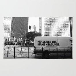 New York Post Truck, Manhattan Rug