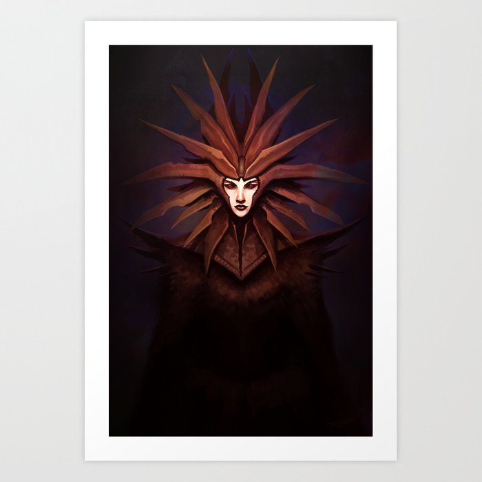 The Lady of Pain Art Print