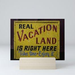 Staycation Mini Art Print