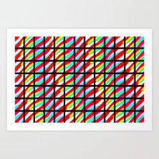 Color composition 3 Art Print