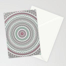 Detailed Mint Mandala Stationery Cards