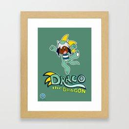 Draco the Dragon Framed Art Print