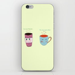 Tea and Coffee iPhone Skin