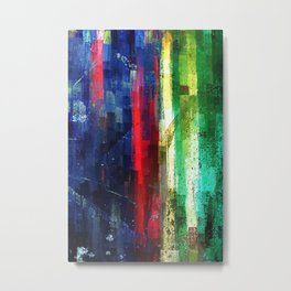 Compound Fracture Metal Print