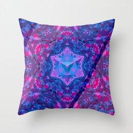 Temple Star Tetrahedron Throw Pillow