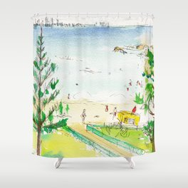 Rainbow Bay, Qld. Australia Shower Curtain