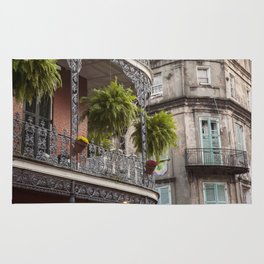 New Orleans Looking Down Royal Rug