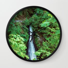 Shepperd Dell Falls Wall Clock