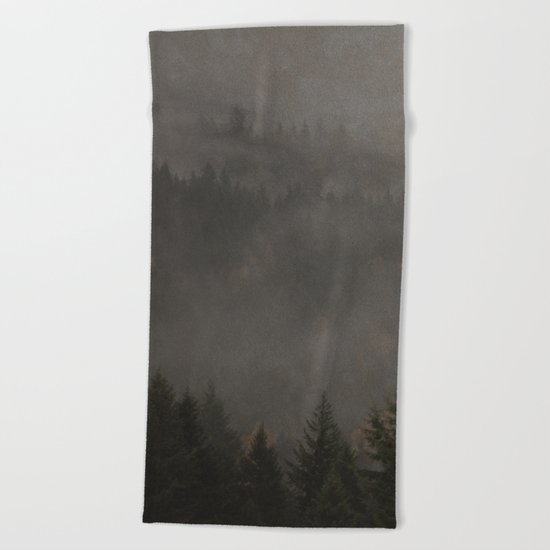 Forest of My Heart Beach Towel