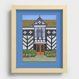 Gawsworth Hall, Cheshire Recessed Framed Print