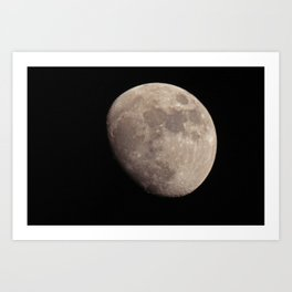 moon set 01 Art Print