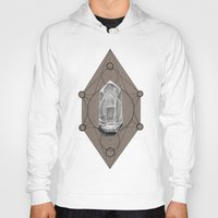 sacred geometry Hoodies featuring Sacred Geometry  by Kit King & Oda