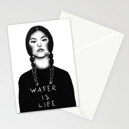 Water Is Life Stationery Cards