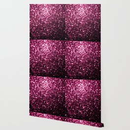 Beautiful Dark Pink glitter sparkles Wallpaper