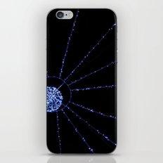 blue web iPhone & iPod Skin