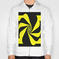 Abstract. Yellow+Black. Hoody
