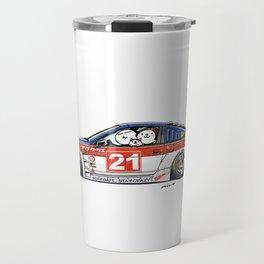 Crazy Car Art 0226 Travel Mug