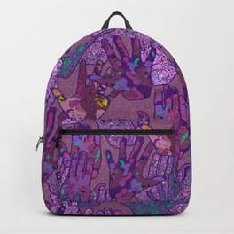 Give Me 5 [Hand Prints] Backpack