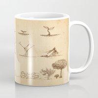 tree of life Mugs featuring Tree Life by Mono Ahn