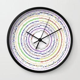 Genome Circles 3 Wall Clock