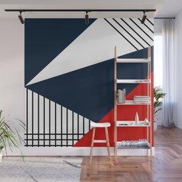 Abstract geometric pattern Lola 2 Wall Mural