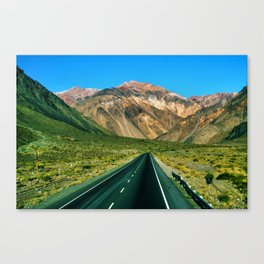 On the Road to Chile Canvas Print
