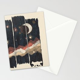A Starry Night in the Mountains... Stationery Cards