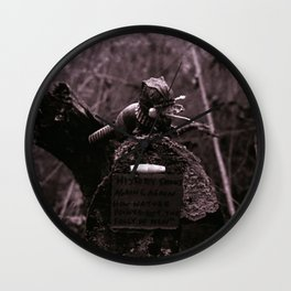 Folly of Men Wall Clock