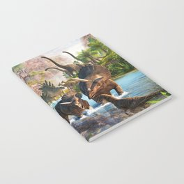 Jurassic dinosaur Notebook