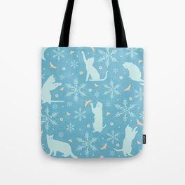 festive flurry Tote Bag