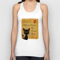 whimsical Tank Tops featuring Whimsical  by BATKEI