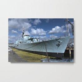 HMS Cavalier Metal Print