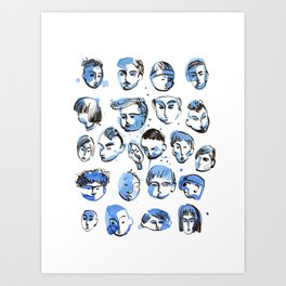 boyz Art Print