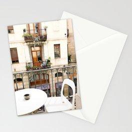 Barcelona balcony Stationery Cards