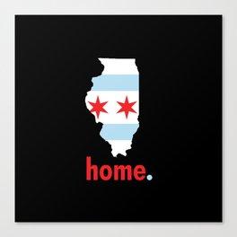 Illinois Proud Canvas Print