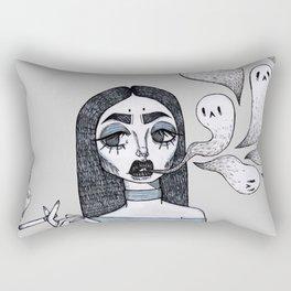 Ghastly Fumes Rectangular Pillow