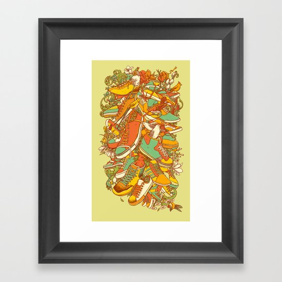 If the Shoe Fits Framed Art Print